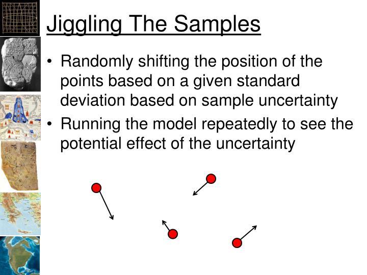 Jiggling The Samples