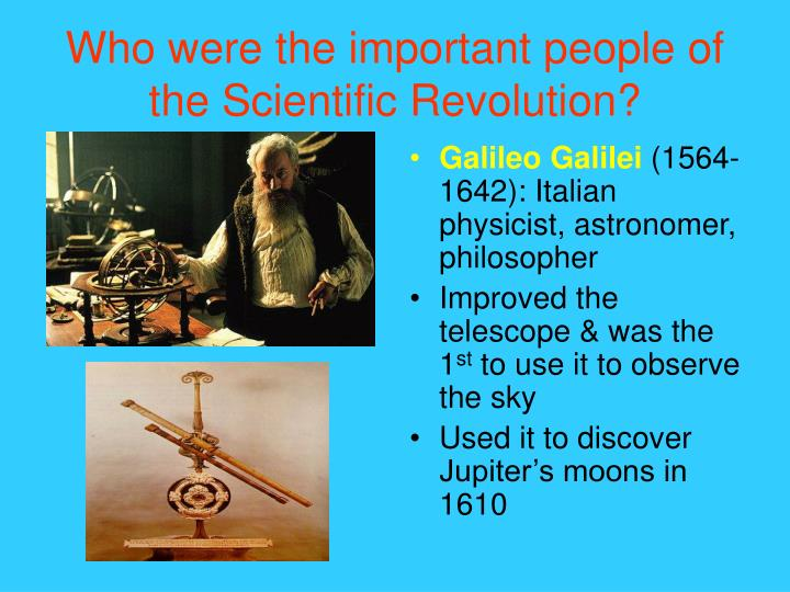 why was the scientific revolution important