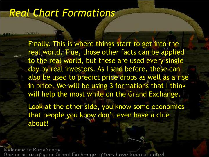 Real Chart Formations