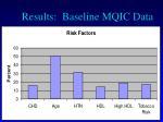 results baseline mqic data1
