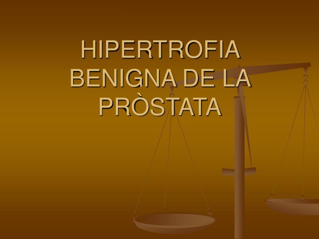 próstata con nódulos centrales hipertrofia de 30 mma