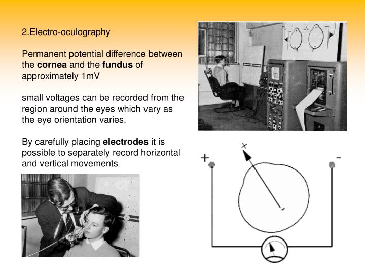 2.Electro-oculography