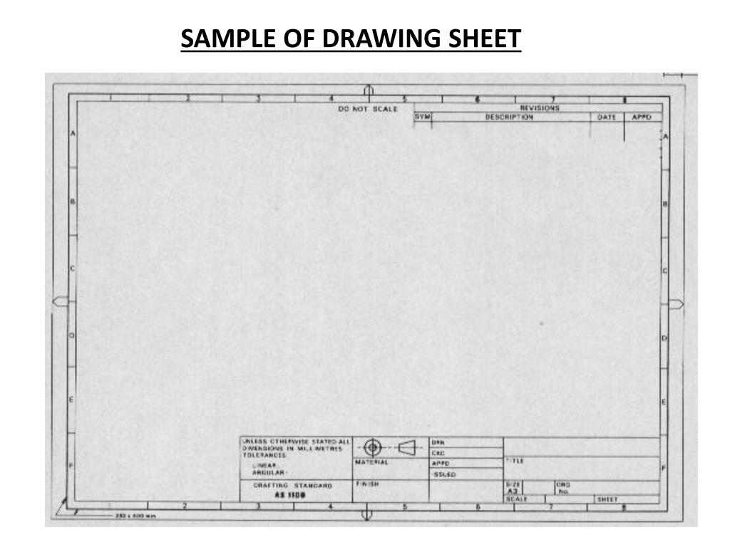 PPT - ME 142 Engineering Drawing and Graphics PowerPoint