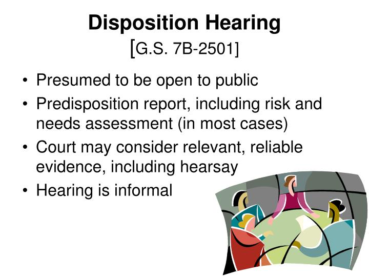 Disposition Hearing