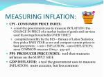 measuring inflation