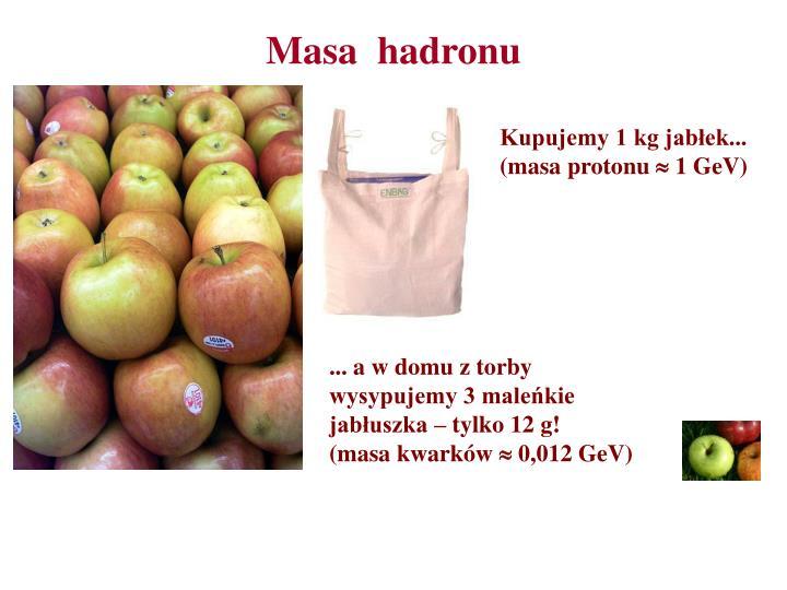 Kupujemy 1 kg jabłek...