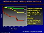 myocardial perfusion mortality 8 years of follow up