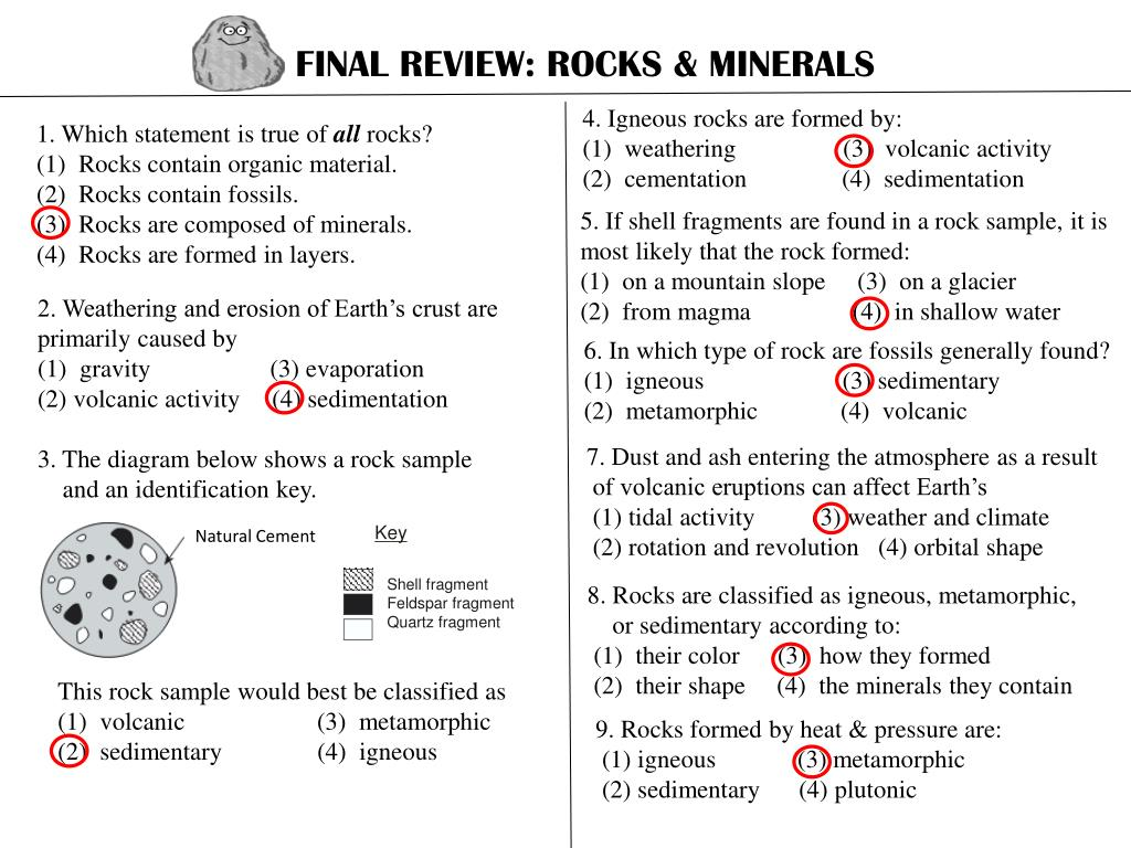 Based On The Sedimentary Rock Diagram Below Which Statement Is True Bose 301 Series Iv Box Wiring Ppt Final Review Rocks Minerals Powerpoint Presentation Id Rh Slideserve Com