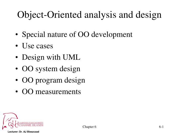 Ppt Object Oriented Analysis And Design Powerpoint Presentation Free Download Id 5558223