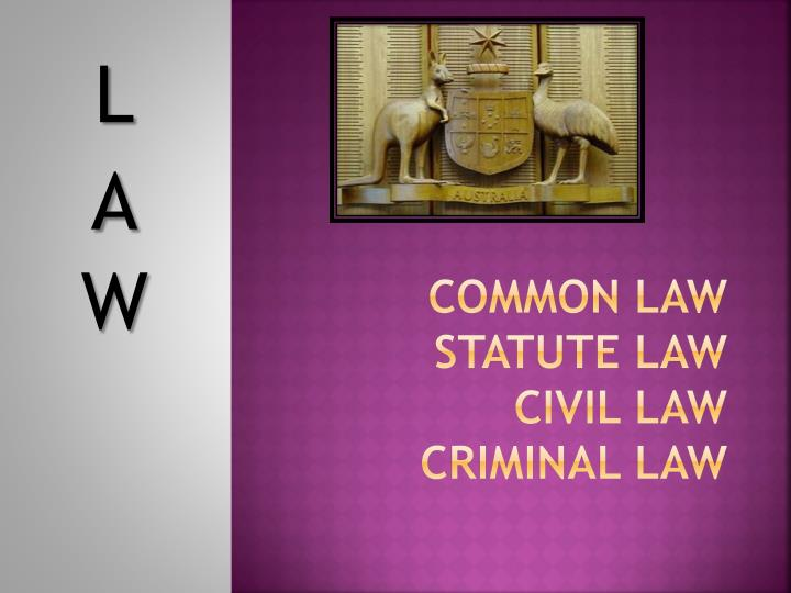 common law chapter 2