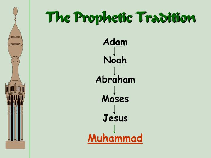 The Prophetic Tradition