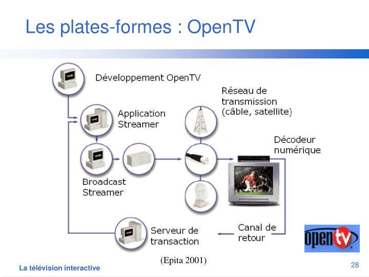 Les plates-formes : OpenTV