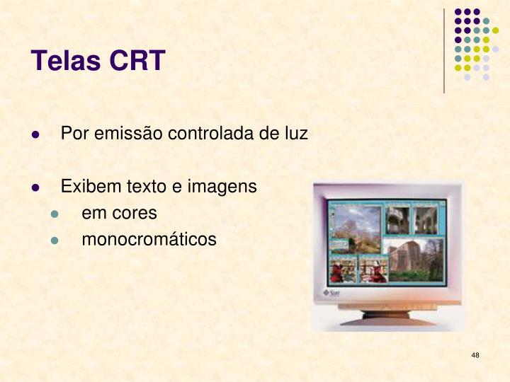 Telas CRT