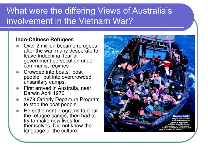 a discussion on australias involvement in other countries wars Chapter 6politics, power and protest in the vietnam war era in 1962 the australian government, led by sir robert menzies, sent a group of.