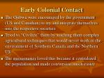 early colonial contact9