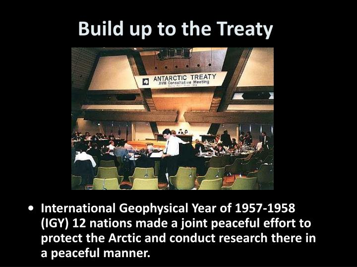 Build up to the Treaty