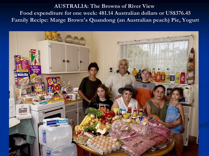 AUSTRALIA: The Browns of River View
