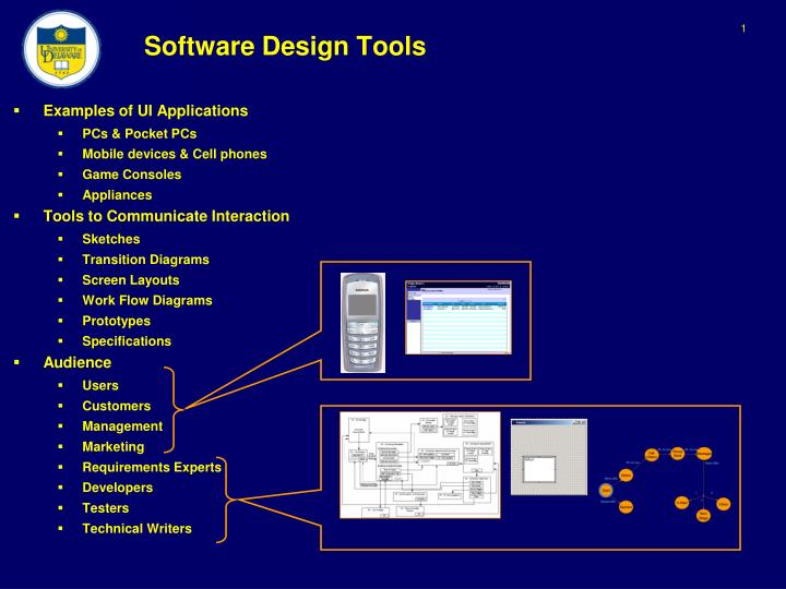 Ppt Software Design Tools Powerpoint Presentation Free Download Id 5559545