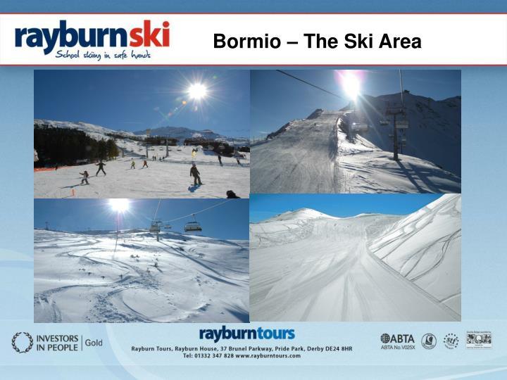 Bormio – The Ski Area