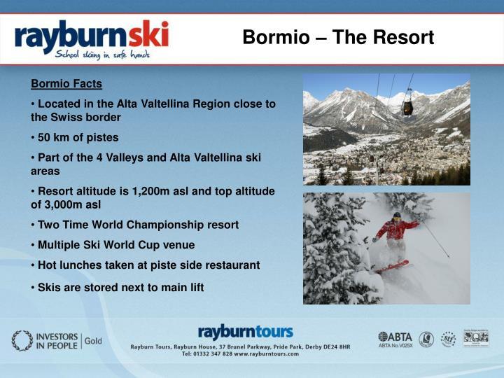 Bormio – The Resort