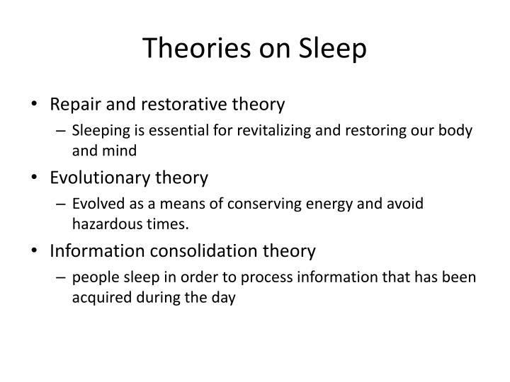restorative theory of sleep definition
