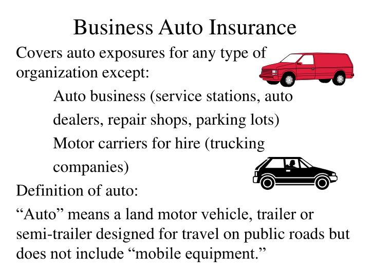 business auto insurance n.