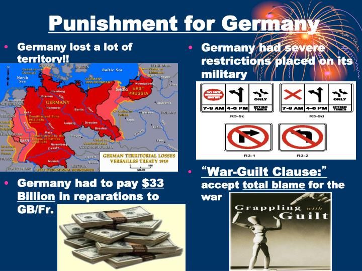 Punishment for Germany