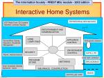 interactive home systems