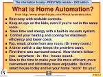 what is home automation from http www smart house com about homeauto htm