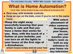 what is home automation from http www smart house com about homeauto htm1