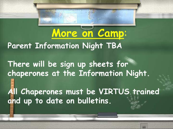 Parent Information Night TBA