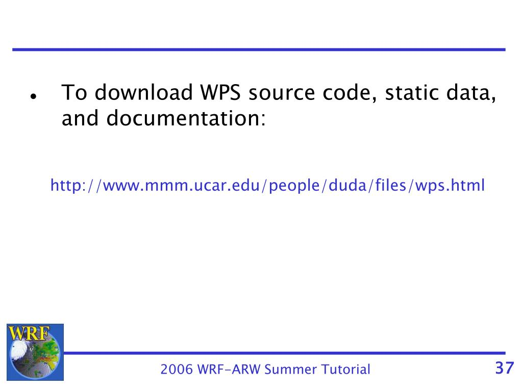 PPT - Installing and Running the WPS PowerPoint Presentation - ID