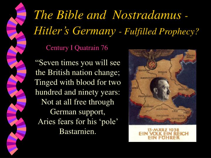 the controversial prophecies of the great nostradamus Nostradamus famous prophecies the great amount of silver of diana maybe the controversial message of his drive to infuriate orthodox belief will keep the.