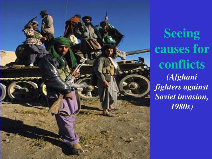 Seeing causes for conflicts