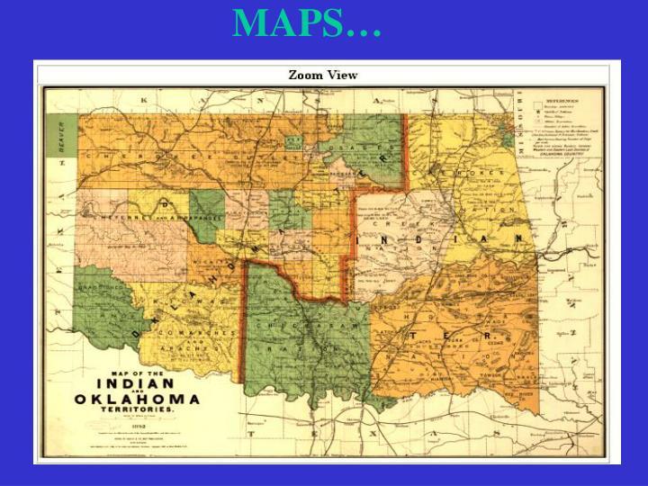 MAPS…