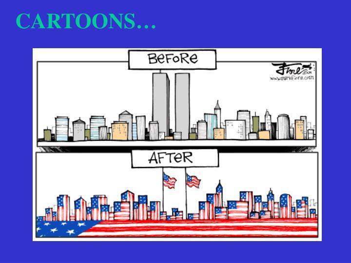 CARTOONS…