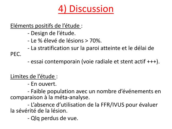 4) Discussion