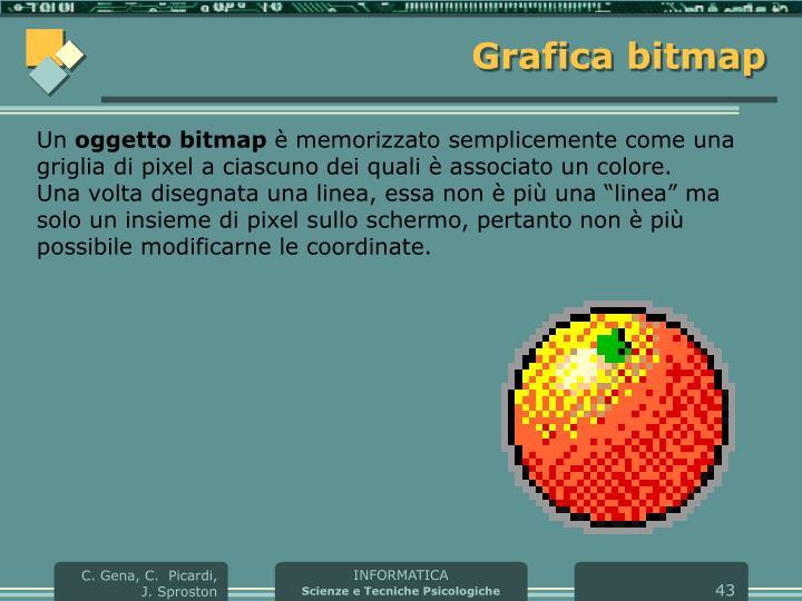 Grafica bitmap