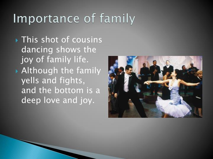 Importance of family