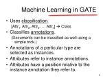 machine learning in gate1
