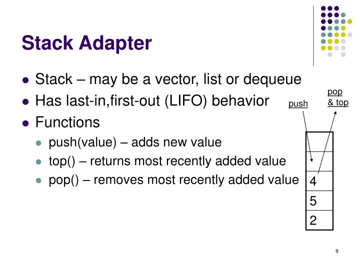 Stack Adapter