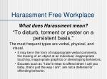 harassment free workplace1