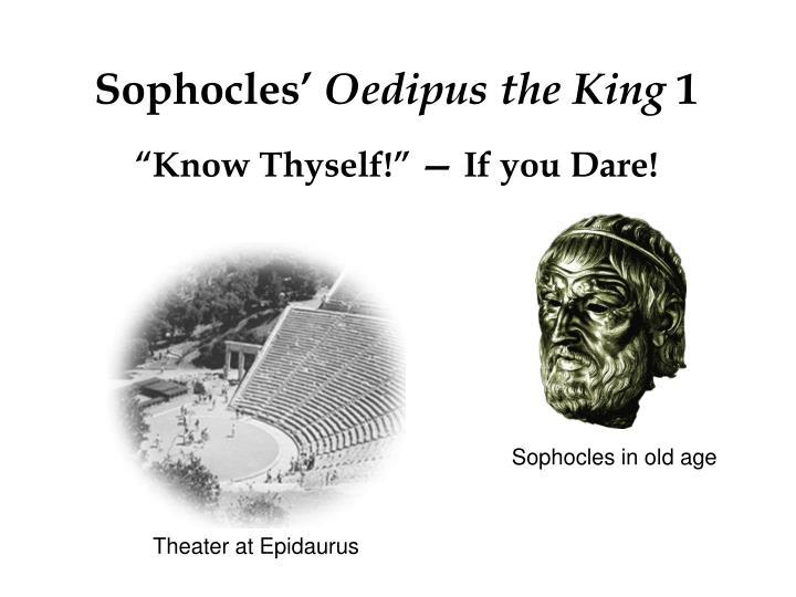 an analysis of the oedipus trilogy Free essay: sympathy for oedipus in the oedipus tyrannus the aim of sympathy for oedipus in the oedipus novel analysis of the oedipus trilogy.