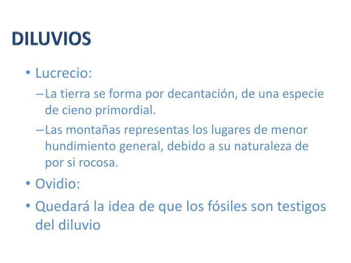DILUVIOS