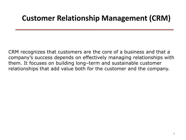 Customer relationship management crm1