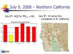 july 9 2008 northern california