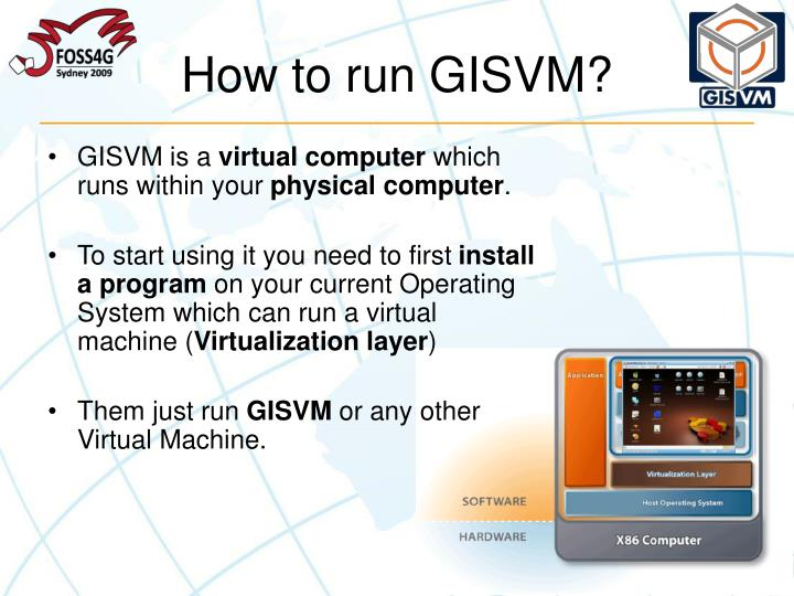 How to run GISVM?