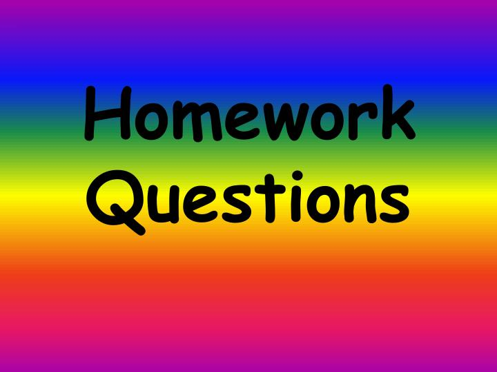 homework help questions Home homework help ask a question and get answers from your fellow students and educators log in to ask a question.