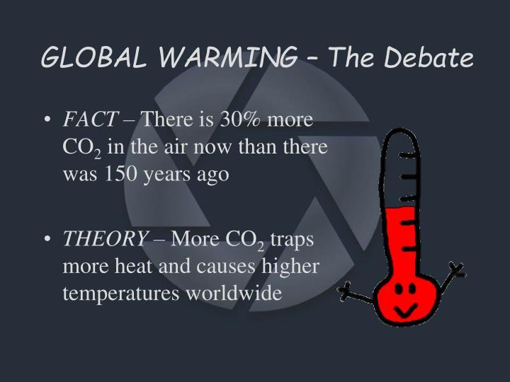 GLOBAL WARMING – The Debate