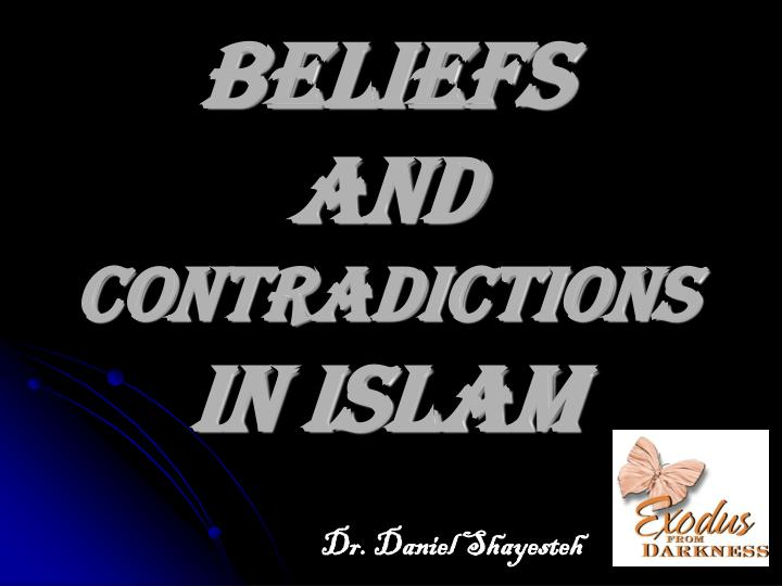 beliefs and contradictions in islam n.